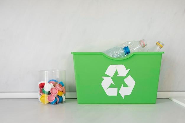 Nachhaltiges lifestyle-konzept zu hause