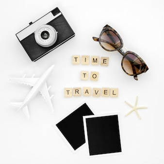Nachricht für reisen und werkzeuge