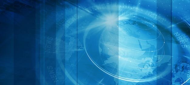 Nachrichtenzeit-hintergrund-konzept-serie