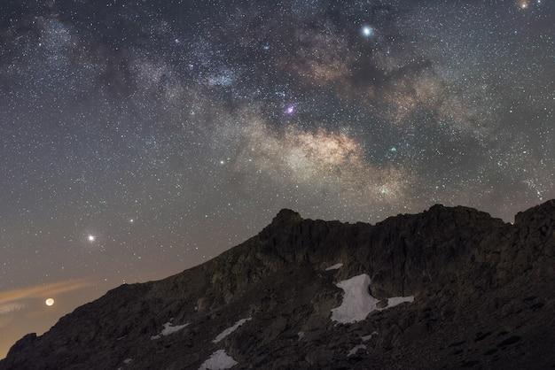 Nacht aus den bergen