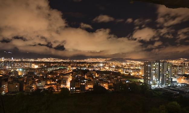 Nachtansicht der stadt