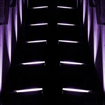 Nachtloipe abstrakten