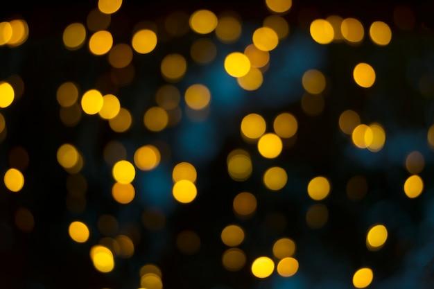 Nachtstadt beleuchtet bokeh hintergrund