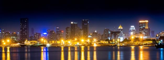 Nachtszene stadtbild