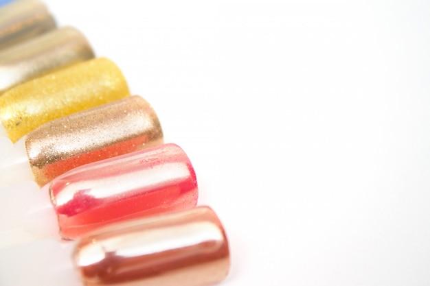 Nagelpflege und maniküre-konzept