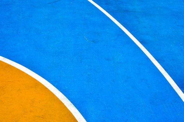 Nahaufnahme basketballplatz
