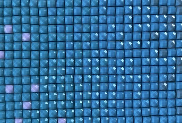 Nahaufnahme, bunte quadratische diamantstickerei hell. hobbys und unterhaltung.