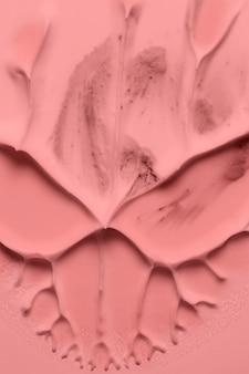 Nahaufnahme der acrylmalerei der abstrakten kunst