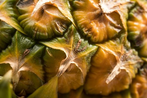 Nahaufnahme der ananashülsen