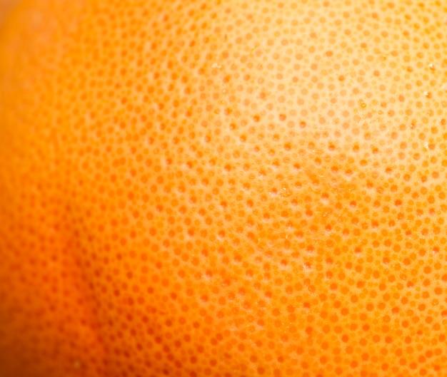 Nahaufnahme der köstlichen orangenschale