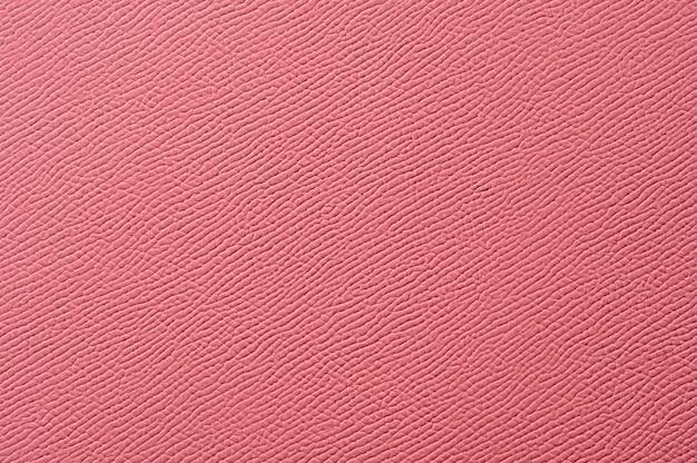 Nahaufnahme der nahtlosen rosa lederbeschaffenheit für hintergrund