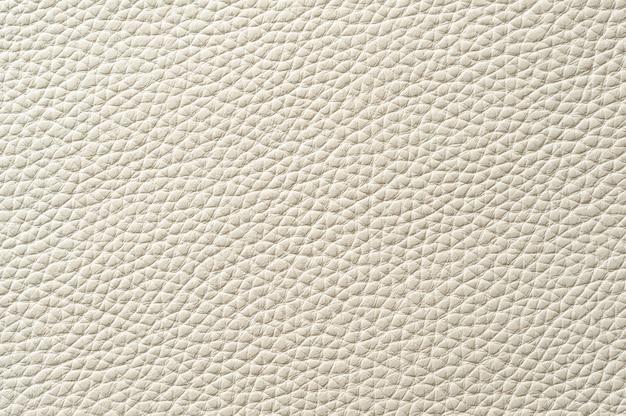 Nahaufnahme der nahtlosen weißen lederbeschaffenheit für hintergrund