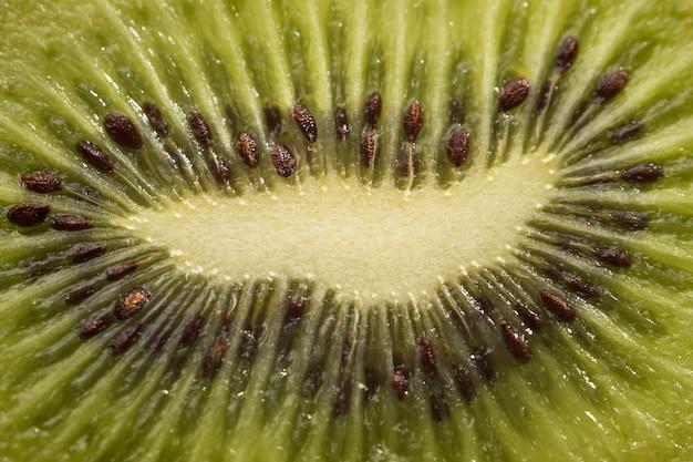 Nahaufnahme der reifen kiwi