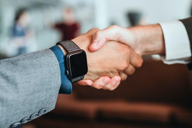 Nahaufnahme der smartwatch