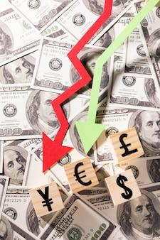 Nahaufnahme der wirtschaftskrise 19