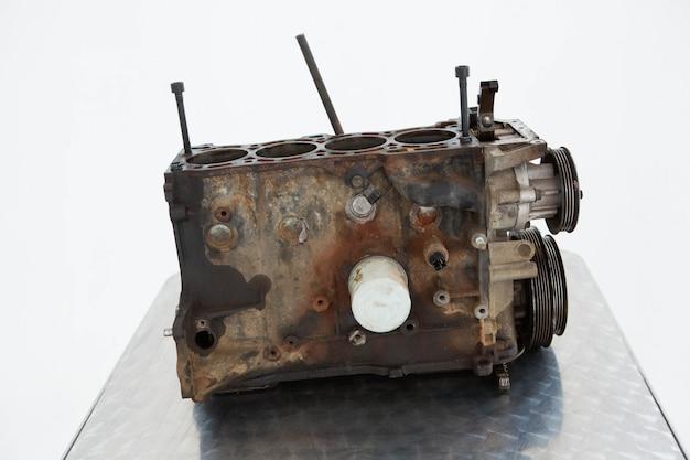 Nahaufnahme des alten automotors