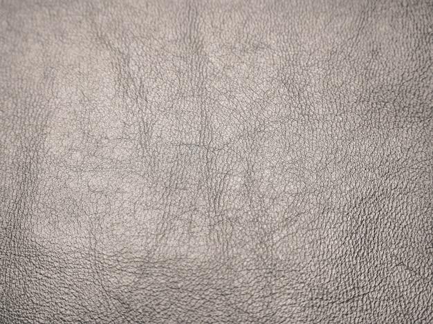 Nahaufnahme des braunen lederhintergrunds oder der textur