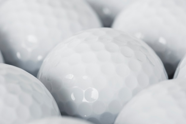Nahaufnahme des golfballs