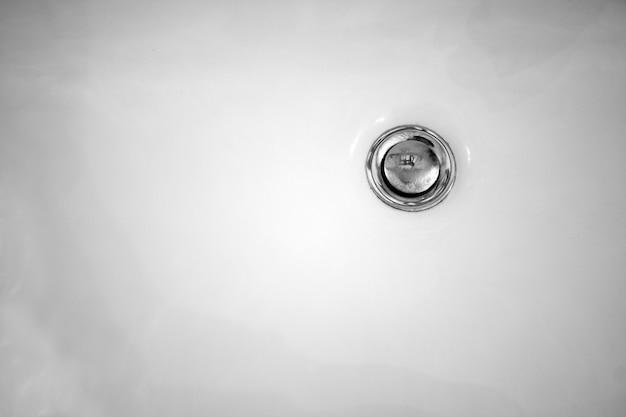 Nahaufnahme des waschbeckens