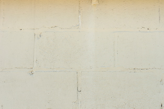 Nahaufnahme des weißen backsteinmauerhintergrundes