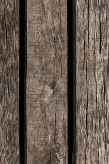 Nahaufnahme einer alten verwitterten hölzernen planke
