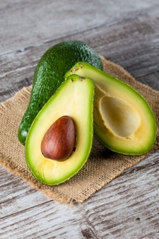 Nahaufnahme einer avocado