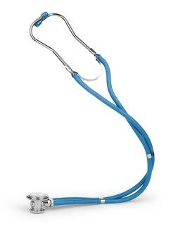 Nahaufnahme eines medizinischen stethoskops