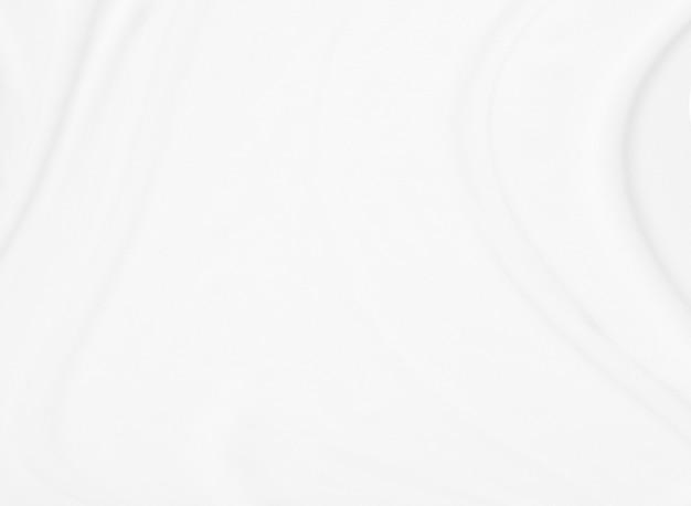 Nahaufnahme elegant zerknittert vom weißen seidengewebestoffhintergrund und von der beschaffenheit. luxus-hintergrunddesign