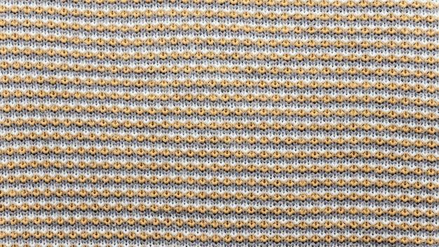 Nahaufnahme gestricktes textil