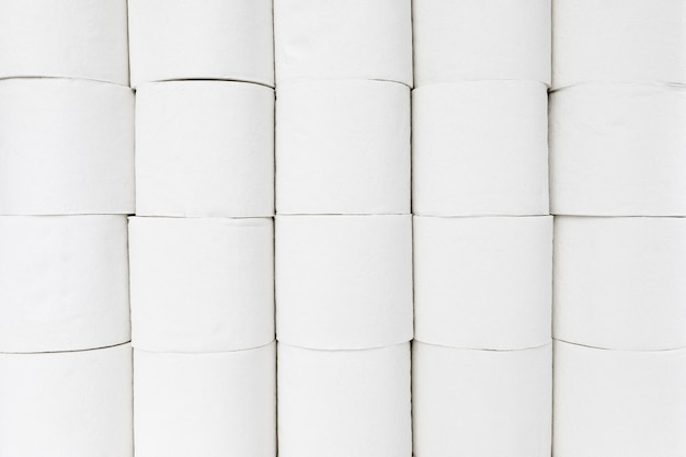 Nahaufnahme toilettenpapierrollen
