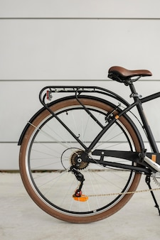 Nahaufnahme vintage fahrrad hinterrad