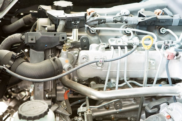 Nahaufnahme von auto-motor