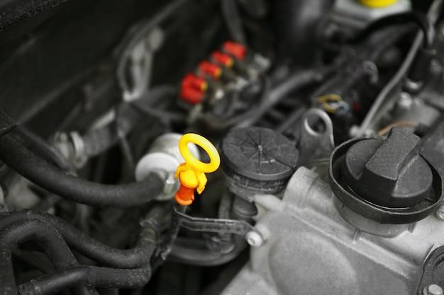 Nahaufnahme von automotor