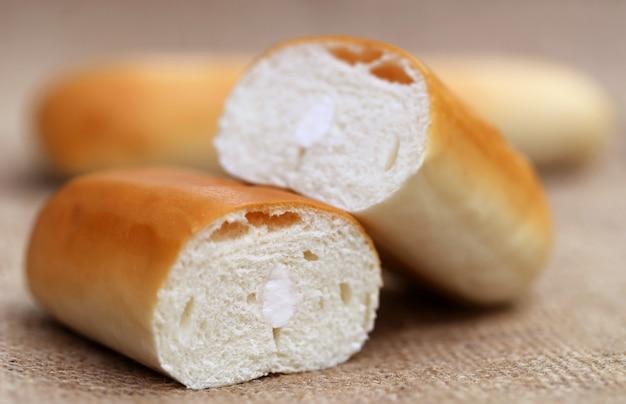 Nahaufnahme von butterbrotbrötchen