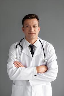 Nahaufnahme von gesundheitspersonal