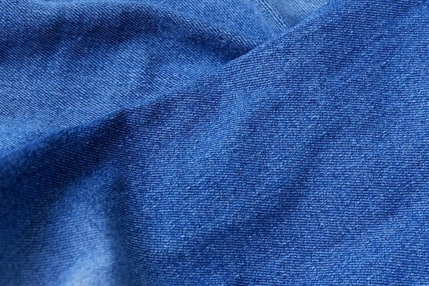 Nahaufnahme von jeans stoff textur hintergrund
