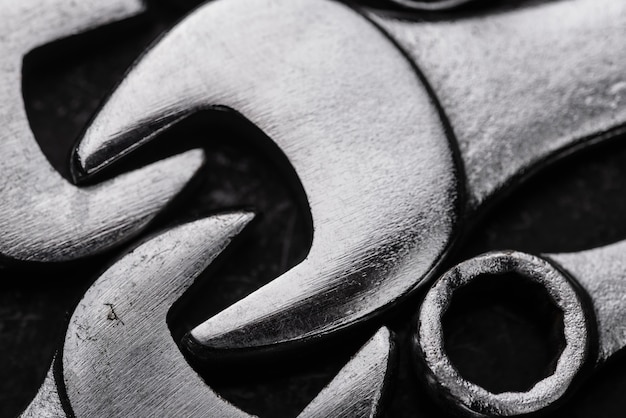 Nahaufnahme von metallschlüsseln