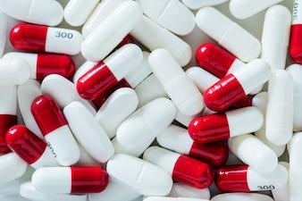 Nahaufnahme von Pillen