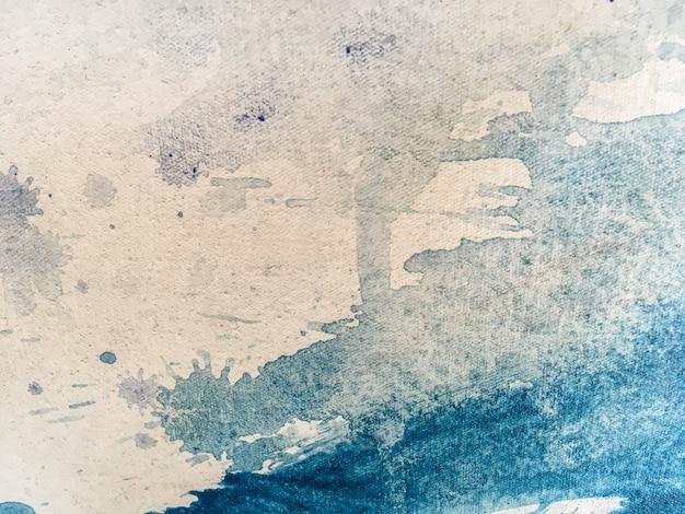Nahaufnahmefarbe auf segeltuch. kunst hintergrund