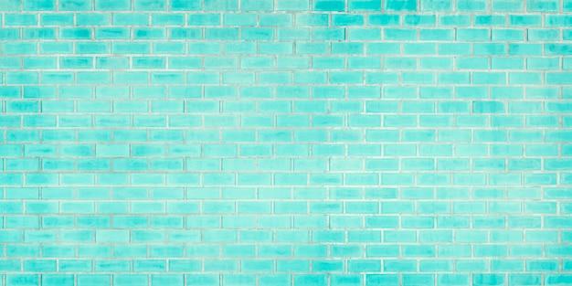 Nahaufnahmefoto des alten blauen ziegelsteinbeschaffenheitsdetailhintergrundes hausladencafé und bürodesignhintergrund malen sie mauerwerkwand und kopieren sie raum