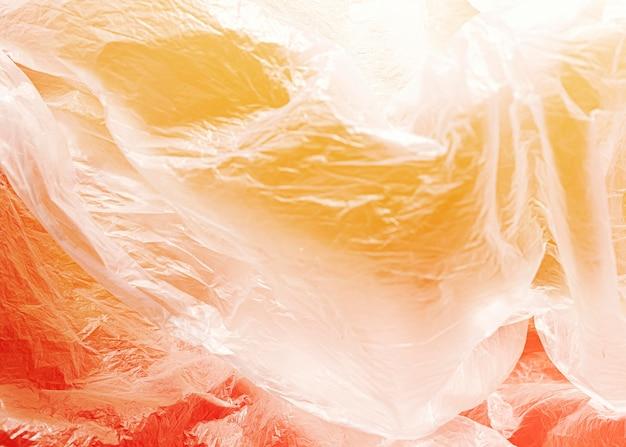 Nahes abstraktes plastiktütenkonzept