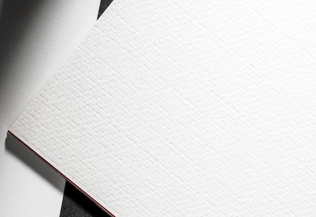Nahes branding weißes strukturiertes material