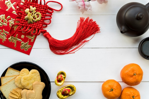 Nahrung für chinesisches neues jahr