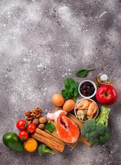 Nahrung für das gehirn und gutes gedächtnis
