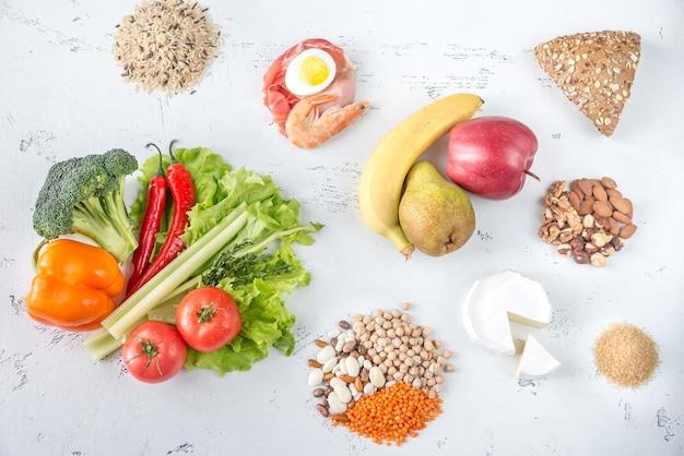 Nahrung für die planetare gesundheitsdiät