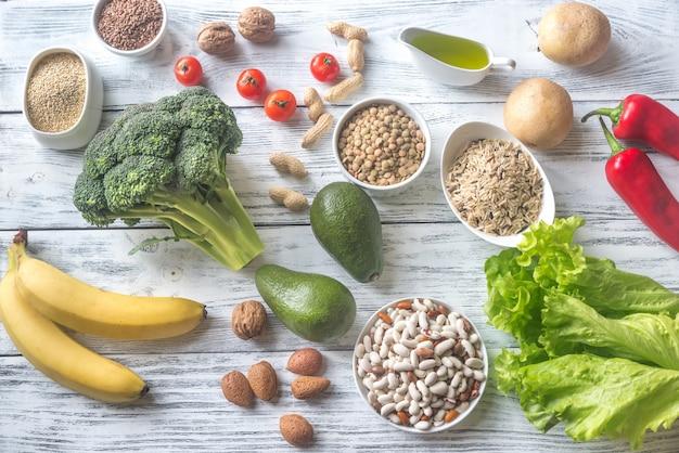 Nahrung für gedeihende ernährung