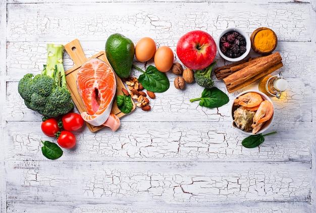 Nahrung für gehirn und gutes gedächtnis