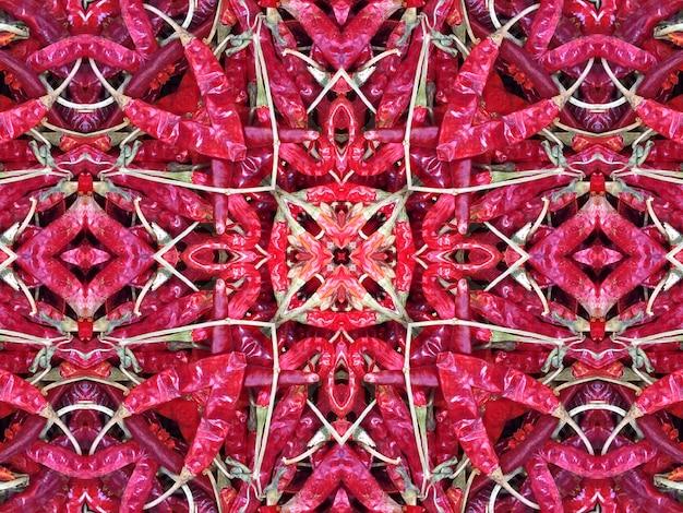 Nahtlose abstrakte chilis hintergrund