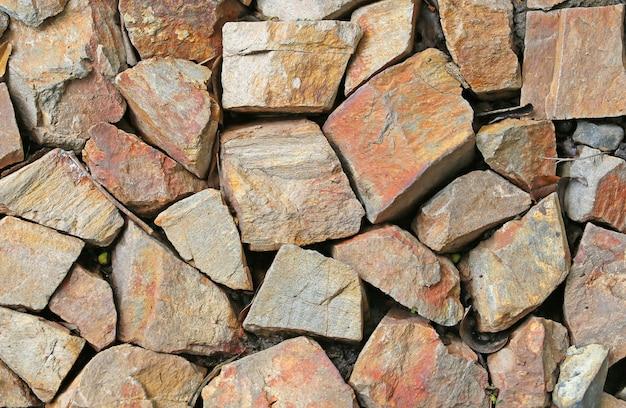 Nahtlose beschaffenheit der felsenwand. stein hintergrund
