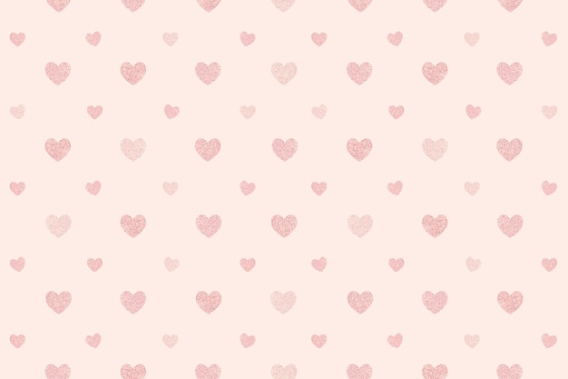 Nahtlose glitzernde rosa herzen gemustert Kostenlose Fotos